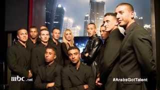 Arabs Got Talent - Cherifian Troupe - ردة فعلهم بعد أداء النصف نهائيات