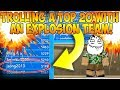 TROLLING THE #9 PLAYER IN PBB WITH AN EXPLOSION TEAM! * GONE WRONG *