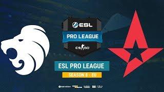 North vs Astralis - ESL Pro League S8 EU - bo1 - de_overpass [Mintgod, Gromjke]