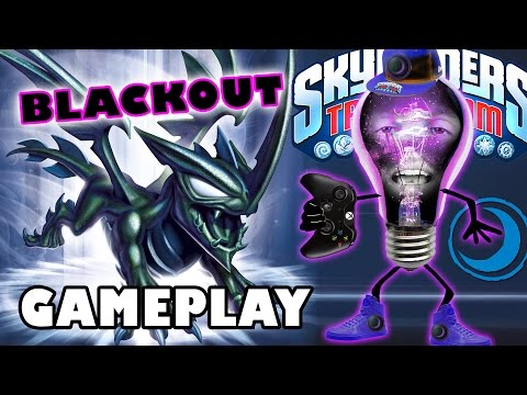 Blackout - Check out this awesome Dark, Core Skylander, BLACKOUT! An all new dragon for the all new Dark Element. This might be a fan fav because this guy not only looks sweet but has super-boss moves!...