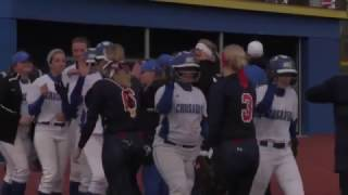 Play of the Game - Softball vs. Cleary Game 2