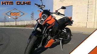9. [FR] New Moto ! KTM 690 DUKE | TEST | A2/A | Braam Braam | BORDEAUX | Gavé Moto