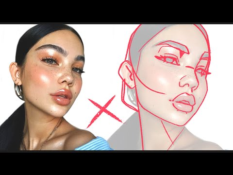 NEVER DRAW FROM PHOTO REFERENCE!   (Drawing Tablet Giveaway!)