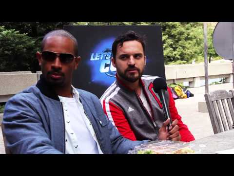 "BARE Magazine 2014: ""Let's Be Cops"" Interview with Jake Johnson, Damon Wayans Jr. and Nick Thomas"