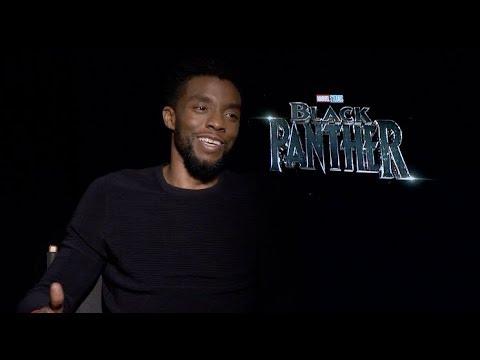 BLACK PANTHER interviews - Boseman, Coogler, Jordan, Kaluuya, N'Yongo, Bassett, Serkis