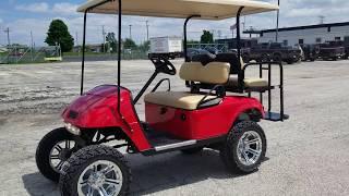 10. Custom EZ GO TxT Gas Golf Cart For Sale From SaferWholesale.com