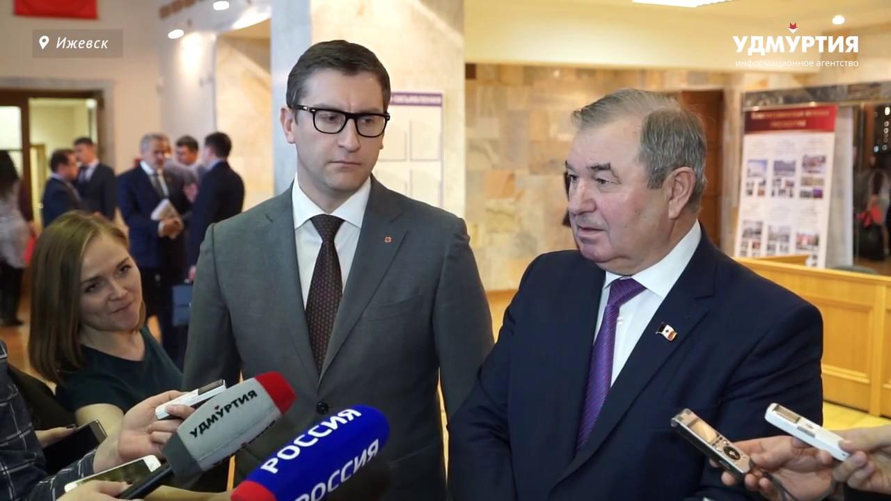 Алексей Прасолов о дисциплине в Госсовете Удмуртии