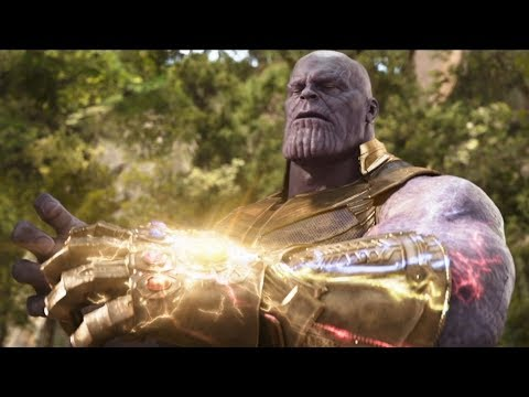 Avengers Infinity War BLU-RAY TRAILER