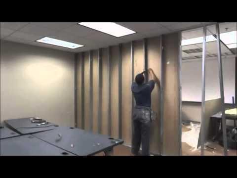 Alçıpan bölme duvar, duvar bölme sistemleri