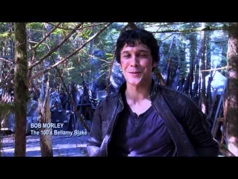 100's! - EXCLUSIVE! Bob Morley, star of The 100, has a special message for @CassieClare.