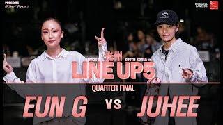 Eun-G vs Juhee – 2019 LINE UP SEASON 5 POPPING Quarter Final