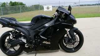 6. 2007 Kawasaki ZX6R with Low Seat Height