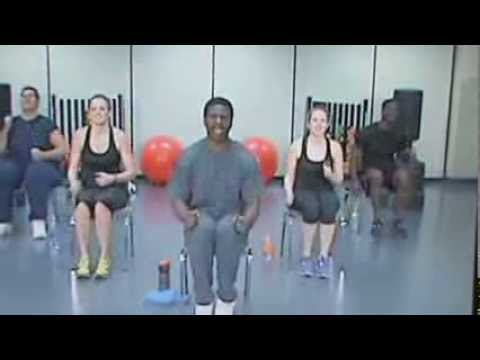 Chair exercise (Chairacise) DVD Weight Loss Warm Up Circuit
