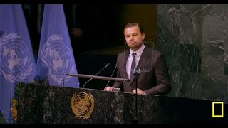 Leonardo Di Caprio Paris Agreement Speech - Before The Flood