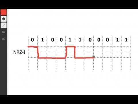 NRZ-I Encoding in 2 minutes