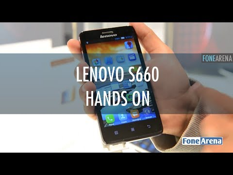 Lenovo S660 Hands On