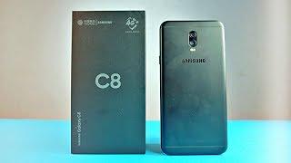 Video Samsung Galaxy C8 - Unboxing & First Look MP3, 3GP, MP4, WEBM, AVI, FLV November 2017