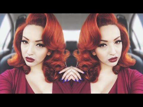 Pin-Up Glam | Voluminous Hair Tutorial