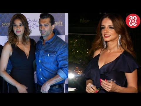 Bipasha & Karan Spotted At A Promotional Event | S