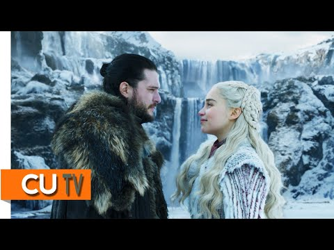 Jon Snow Rides Dragon│Jon & Daenerys's Kiss Scene│Game Of Thrones SS08 Ep01