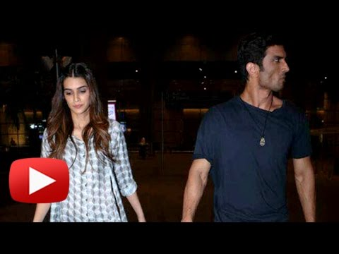 Sushant Singh Rajput & Kriti Sanon Do Not Like To