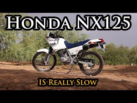 Honda nx 125 отзывы снимок