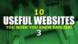 This is part 3 of our monthly series where we look at some of the more interesting and amazing sites on the internet. Just like the first 2 videos in this series, these websites will be in various categories covering a wide range of topics. These 10 useful websites may be some that you already know, along with sites that you wish you knew about earlier!▶Subscribe: https://www.youtube.com/techgumbo▶Share This Video: https://youtu.be/KxzFONmNtykUseful Websites Series: https://www.youtube.com/playlist?list=PLunpbmfrhFAUSPVZqT_-ApAq7x8K_IIBNWeTransfer: https://wetransfer.com/WolframAlpha: https://www.wolframalpha.com/Memrise: https://www.memrise.com/Oyster: https://www.oyster.com/GoAnimate: https://goanimate.com/PCPartPicker: https://pcpartpicker.com/Ambient-Mixer: http://www.ambient-mixer.com/Future Learn: https://www.futurelearn.com/CheapShark: https://www.cheapshark.com/Ecosia: https://www.ecosia.org/Music by: Gunnar Olsen, Jingle Punks, Vibe Tracks & Silent Partnerhttps://www.youtube.com/audiolibrary/music