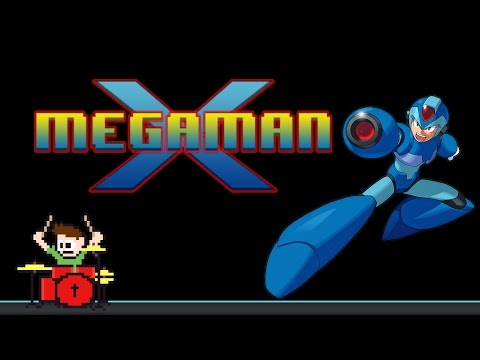 Mega Man X Full OST (Drum Cover) --The8BitDrummer