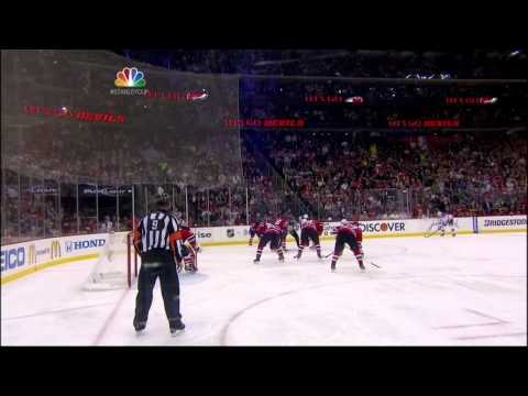 McDonagh vs Henrique fight. NY Rangers vs New Jersey Devils Game 4 5/21/12
