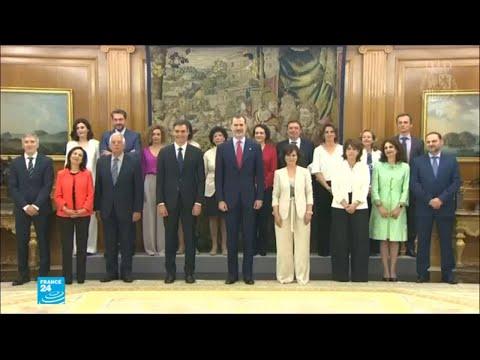 العرب اليوم - أكبر عدد من النساء في حكومة إسبانية عبر التاريخ