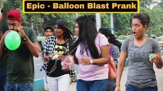 Video Epic - Balloon Blast Prank On Girl's - In Kolkata - Pranks In India | By TCI MP3, 3GP, MP4, WEBM, AVI, FLV Maret 2019