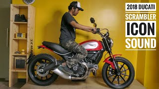 2. 2018 Ducati Scrambler Icon sound | 360 walkaround | specs | RWR