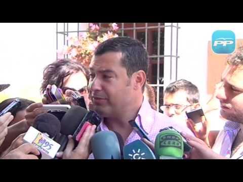 Moreno: El Gobierno socialista es el único responsable de la conspiración contra el pueblo andaluz