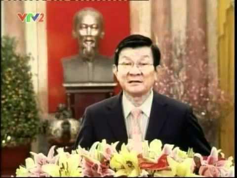 Chủ tịch nước Trương Tấn Sang chúc tết Nhâm Thìn 2012
