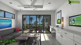3D Interior Walkthrough Animation Design for interior Virtual Tour