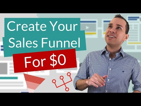 How To Create A Sales Funnel For Free   The $0 Startup Cost Sales Funnel Creation Tutorial