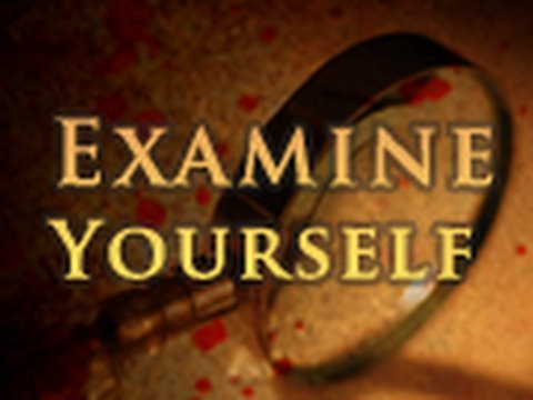 washer - Examine yourselves, to see whether you are in the faith. Test yourselves. Or do you not realize this about yourselves, that Jesus Christ is in you?--unless i...