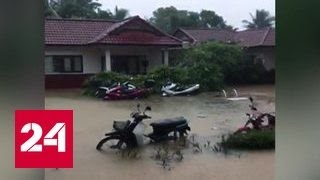 Жертвами наводнений в Таиланде стали уже 19 человек