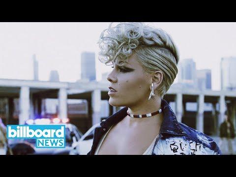 Pink Set to Receive the Michael Jackson Video Vanguard Award At 2017 VMAs | Billboard News