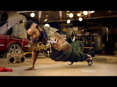 Snickers More Nuts - Mr T Push Up