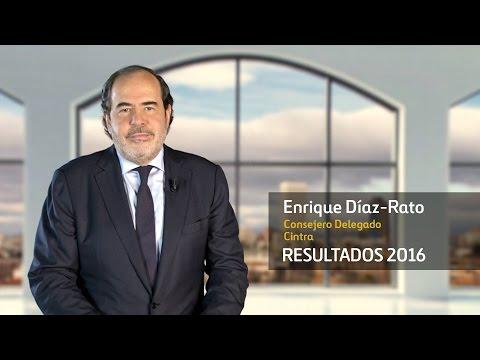 Resultados 2016 – Enrique Díaz-Rato, Consejero Delegado de Cintra