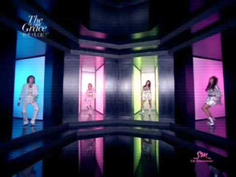 Tekst piosenki Cheon Sang Ji Hee The Grace - Can't Help Falling In Love po polsku