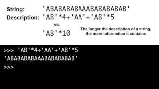 Kolmogorov complexity with Python