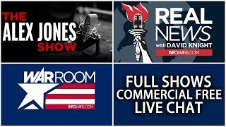 LIVE 📢 All Shows From Today Commercial Free ► Alex Jones Infowars • Friday 6/22/18