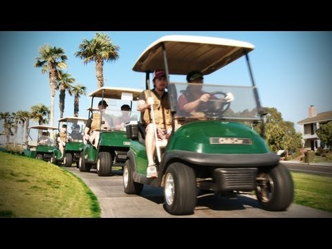 freddiew - RT! http://bit.ly/RTgolfwar FB! http://on.fb.me/AwysuI A routine golf cart patrol along the back nine is ambushed. Golf can be deadly. Special thanks to Tim ...