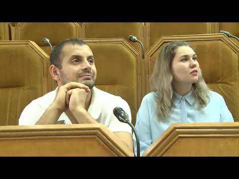 """Reprezentanții organizației obștești """"Tinerii iubesc Moldova"""" au vizitat sediul Președinției"""