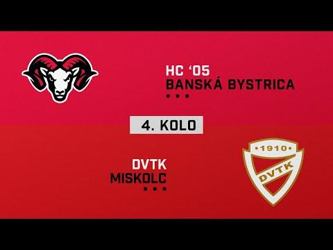 2020/2021 Tipos Extraliga, 4. forduló: HC05 Banská Bystrica - DVTK Jegesmedvék