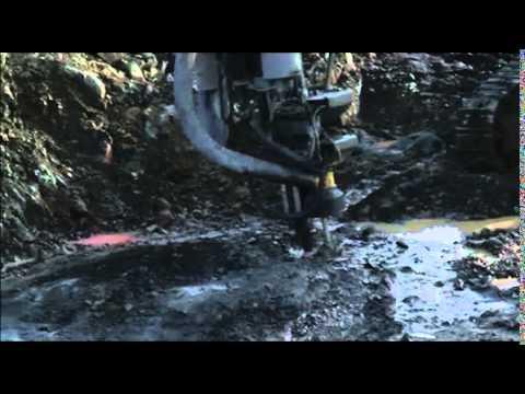 Avrymningsarbete vid Tapulifyndigheten 26 september 2011