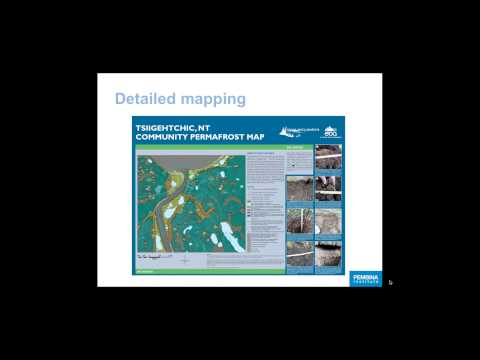 Webinar: Communities & Permafrost in the NWT Part 2: Hazard mapping & planning