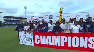 Fighting half-centuries by Niroshan Dickwella and Asela Gunaratne sparked Sri Lanka past a record 388 target to beat Zimbabwe...